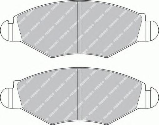 Колодки тормозные дисковые Premier Ferodo FDB1378FDB1378