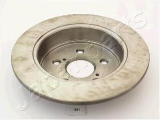 Диск тормозной Japanparts DP231 комплект 2 штDP231