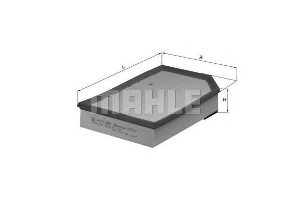 Фильтр воздушный Mahle/Knecht LX868 868