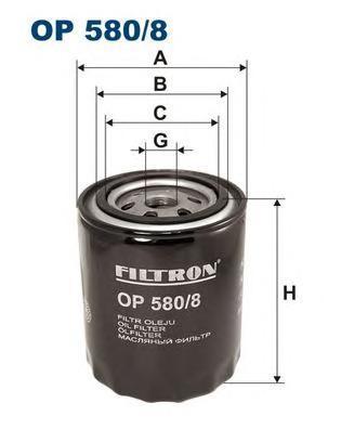 Фильтр масляный Filtron OP5808OP5808