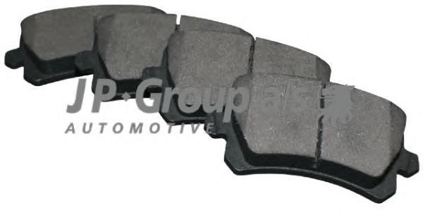 Group Колодки тормозные задние JP Group 11637066101163706610
