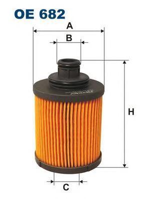 Фильтр масляный Filtron OE682OE682