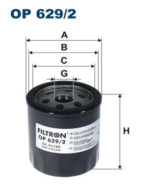 Фильтр масляный Filtron. OP6292OP6292