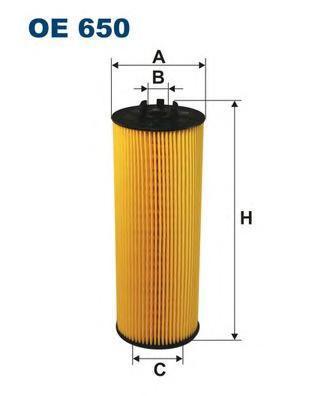 Фильтр масляный Filtron OE650OE650