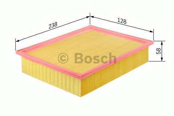 Фильтр воздушный Bosch F026400047F026400047