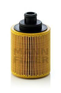 Масляный фильтроэлемент без металлических частейMann-Filter HU7127XHU7127X