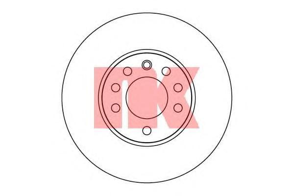 Диск тормозной NK 203645 комплект 2 шт203645