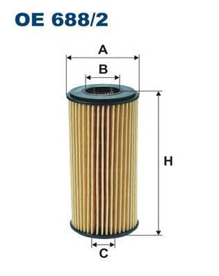 Фильтр масляный Filtron OE6882OE6882