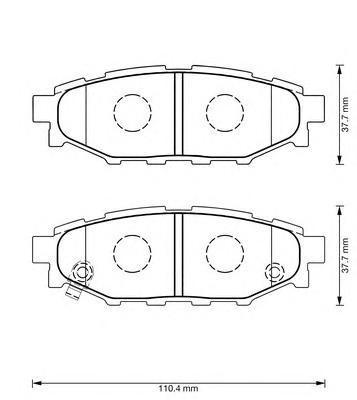 Колодки тормозные Jurid 573380J573380J