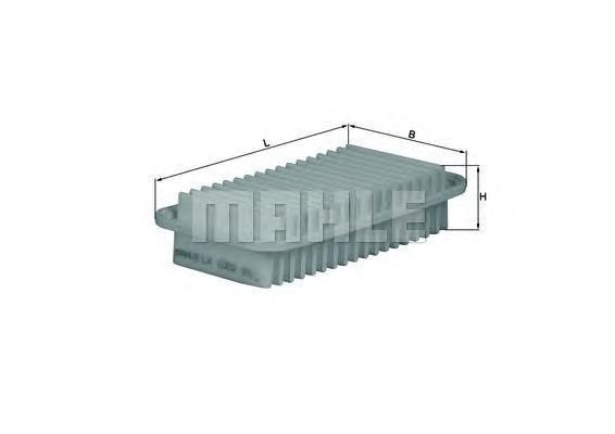 Фильтр воздушный Mahle/Knecht LX1002