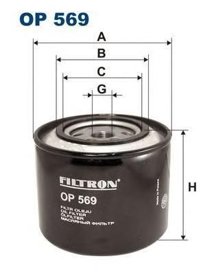Фильтр масляный Filtron OP569OP569