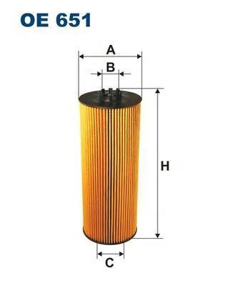 Фильтр масляный Filtron OE651OE651