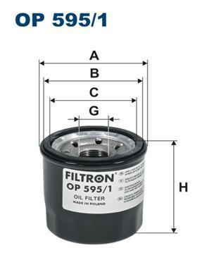 Фильтр масляный Filtron OP5951OP5951