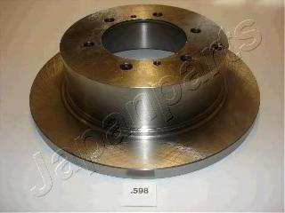 Диск тормозной Japanparts DP598 комплект 2 штDP598