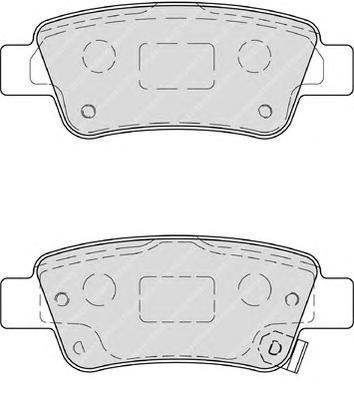 Колодки тормозные дисковые Premier Ferodo FDB4233FDB4233