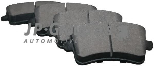 Group Колодки тормозные дисковые задние JP Group 11637068101163706810