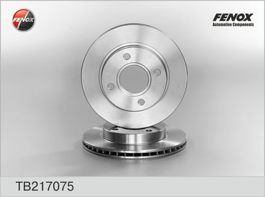 Диск тормозной Fenox TB217075 комплект 2 штTB217075