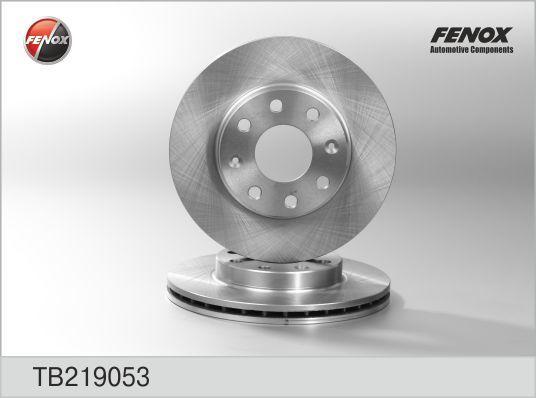 Диск тормозной Fenox TB219053 комплект 2 штTB219053