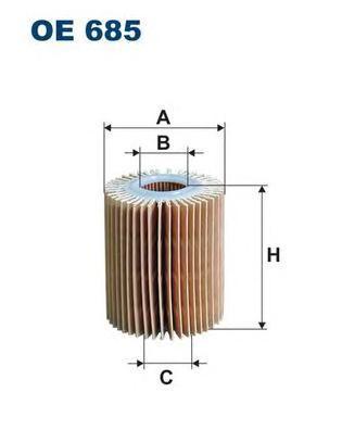 Фильтр масляный Filtron OE685OE685