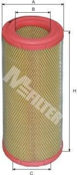 Фильтр воздушный M-Filter A549A549