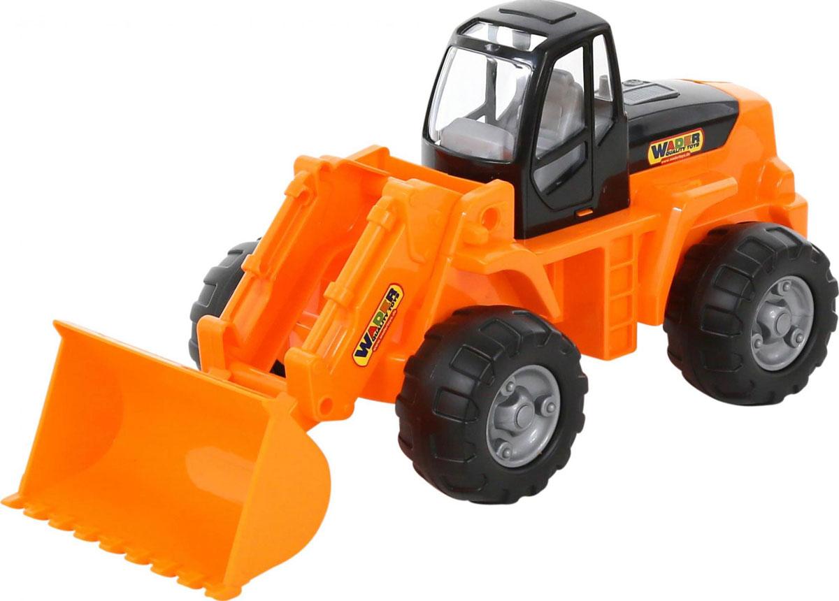 Полесье Трактор-погрузчик цвет оранжевый цена