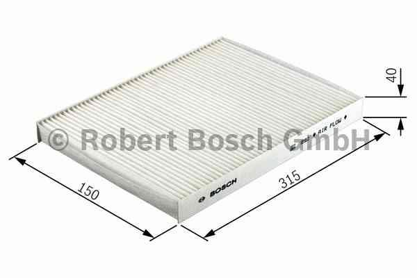 Фильтр салона (угольный) Bosch 19874324121987432412