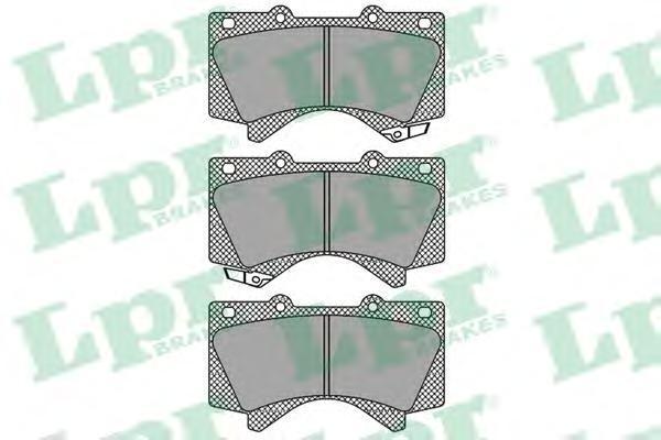Колодки тормозные передние LPR / AP 05P141805P1418