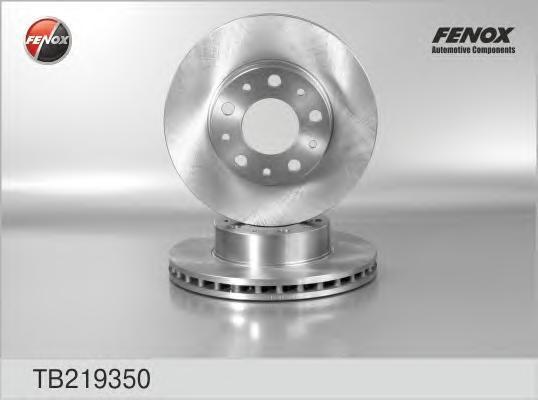 Диск тормозной Fenox TB219350 комплект 2 штTB219350