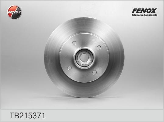 Диск тормозной Fenox TB215371TB215371