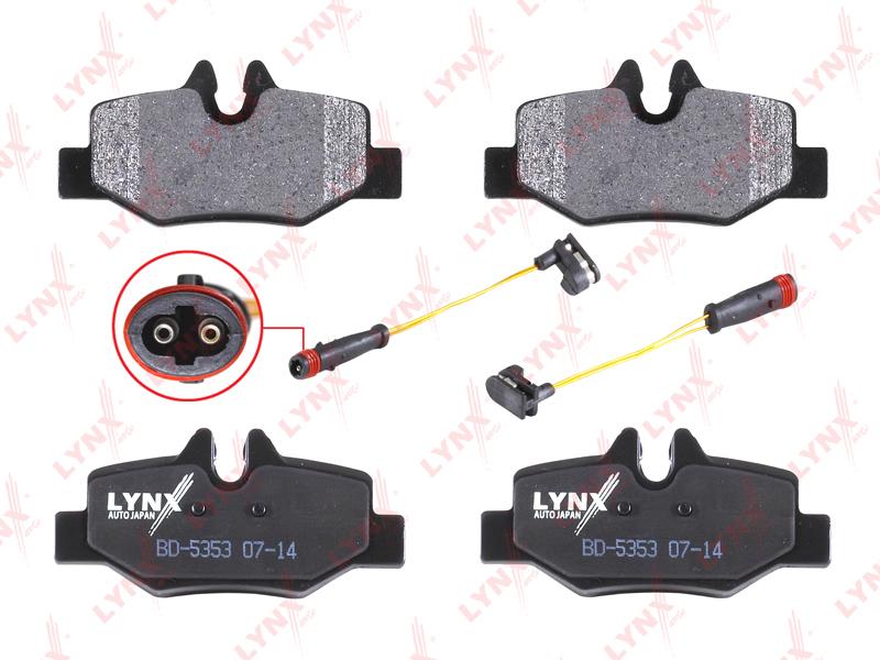 Колодки тормозные задние Lynx BD5353BD5353