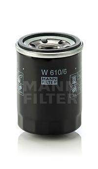 Масляный фильтр Mann-Filter W6106W6106