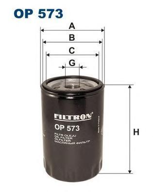 Фильтр масляный Filtron OP573OP573