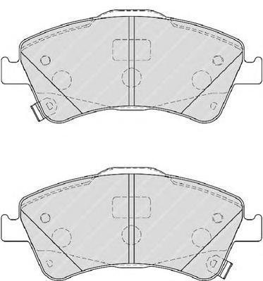 Колодки тормозные дисковые Premier Ferodo FDB4047FDB4047