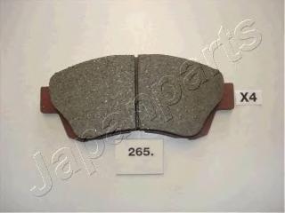 Колодки тормозные дисковые Japanparts PA265AFPA265AF