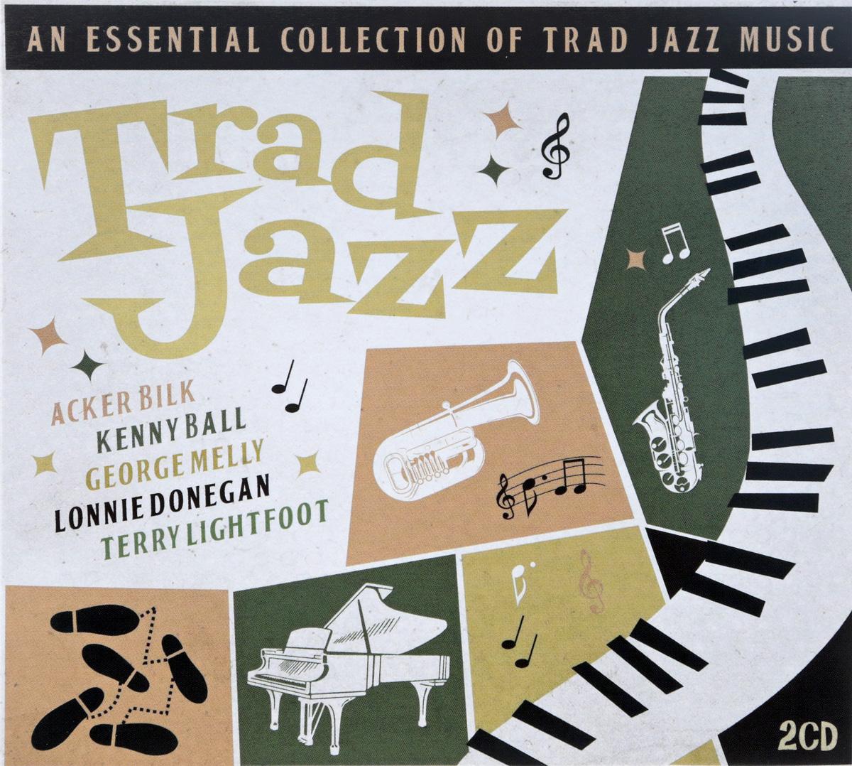 Trad Jazz (2 CD) сборник jazz – 100 самых знаменитых джазменов cd