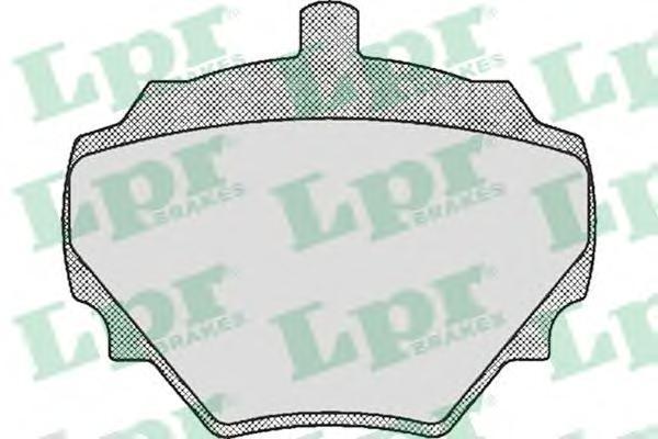Колодки тормозные LPR / AP 05P39205P392