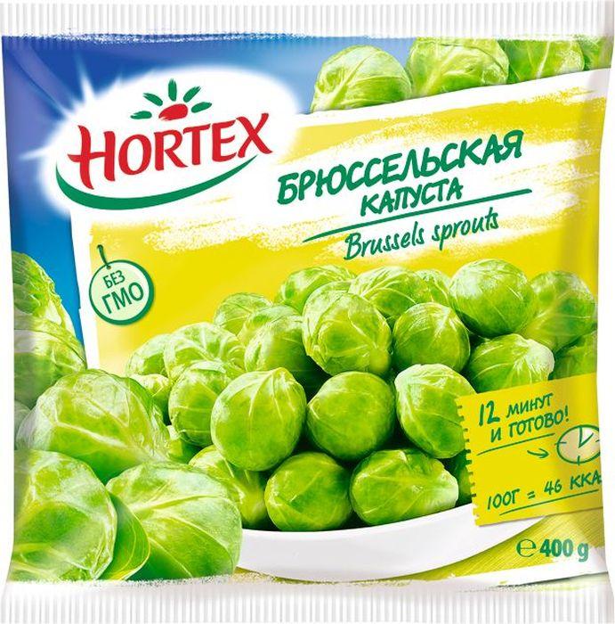 Hortex Брюссельская капуста, 400 г пюре gerber брюссельская капуста с 5 мес 80 г