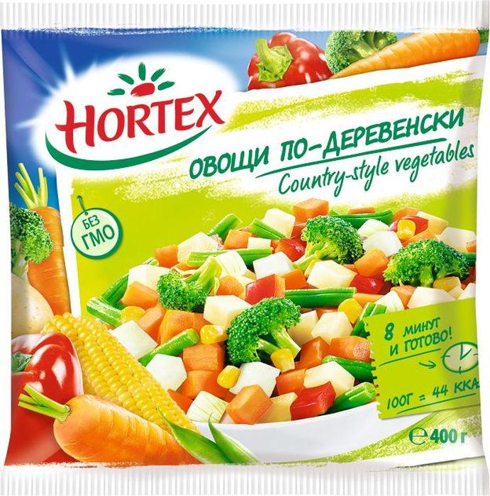 Hortex Овощи по-деревенски, 400 г5900477011477Набор Hortex Овощи по-деревенски состоит из смеси замороженных овощей. Овощи, представленные в смеси, находятся в различных пропорциях.Продукт Hortex без ГМО и консервантов, произведенный известным европейским брендом с 60-летней историей.