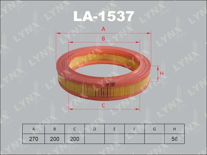 Фильтр воздушный Lynx LA1537LA1537