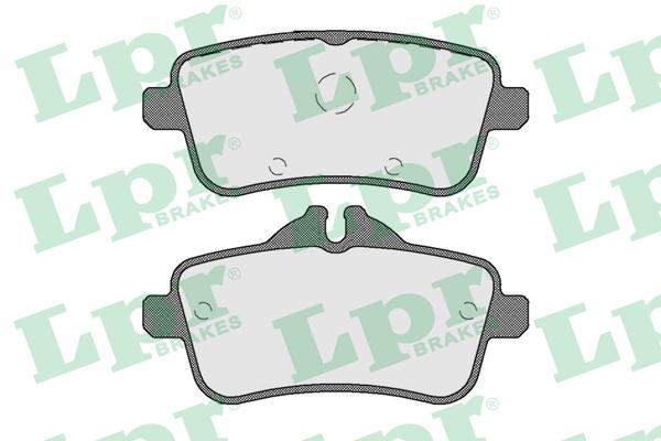 Колодки тормозные задние LPR / AP 05P180505P1805
