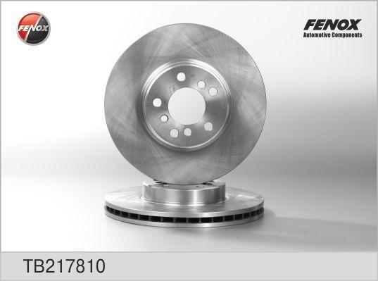 Диск тормозной Fenox TB217810 комплект 2 штTB217810