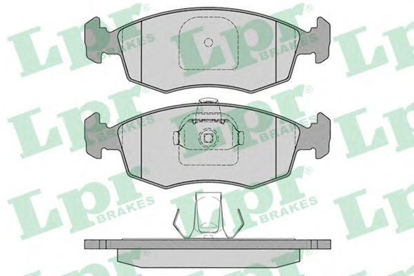 Колодки тормозные переднийLPR / AP 05P78505P785