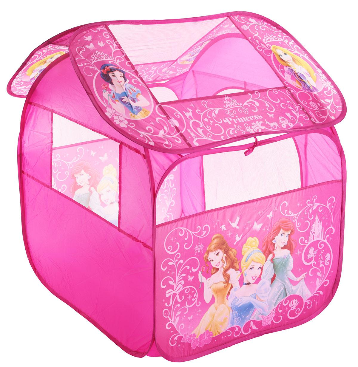 Играем вместе Детская игровая палатка Принцессы Дисней 105 х 83 х 80 см - Игры на открытом воздухе