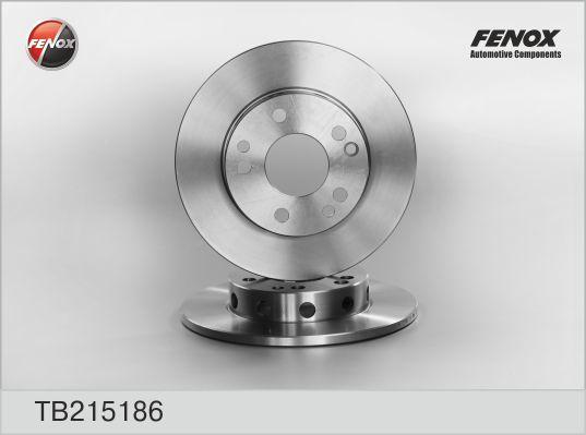 Диск тормозной Fenox TB215186TB215186