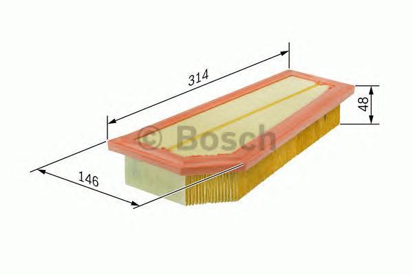Фильтр воздушный Bosch F026400134F026400134