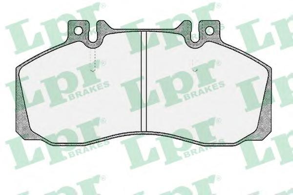 Колодки тормозные передние LPR / AP 05P36005P360