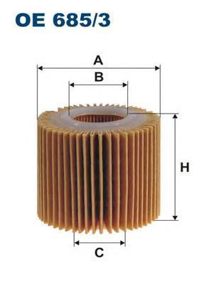 Фильтр масляный Filtron OE6853OE6853