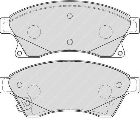 Колодки тормозные дисковые Premier Ferodo FDB4262FDB4262