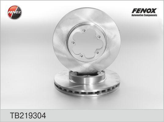 Диск тормозной Fenox TB219304 комплект 2 штTB219304