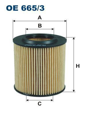 Фильтр масляный Filtron. OE6653OE6653